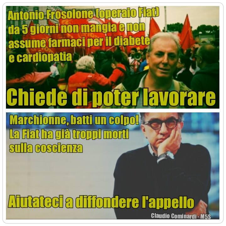 Fiat: la storia di Antonio Frosolone