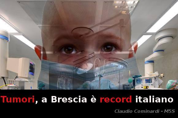 A Palazzolo s/O (dove la Caffaro non c'è), l'incidenza tumorale al fegato rispecchia quella di Brescia città