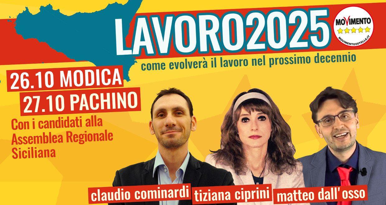 Lavoro 2025 sbarca in Sicilia: due eventi a Ragusa e Siracusa