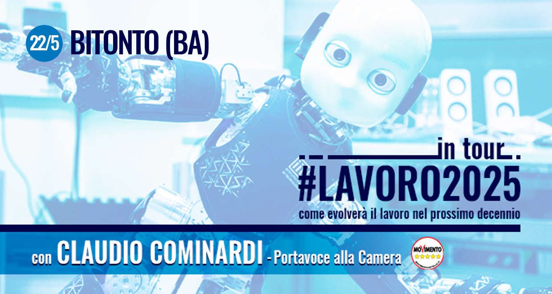 #Lavoro2025Tour: lunedì 22 maggio nel cuore della Puglia