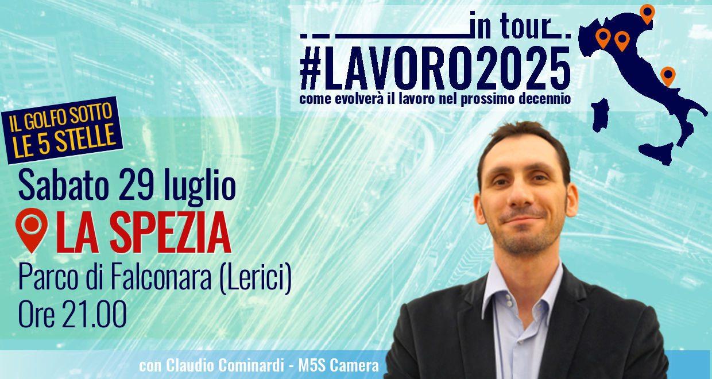 """#Lavoro2025Tour a La Spezia per """"Il golfo sotto le 5 stelle"""""""