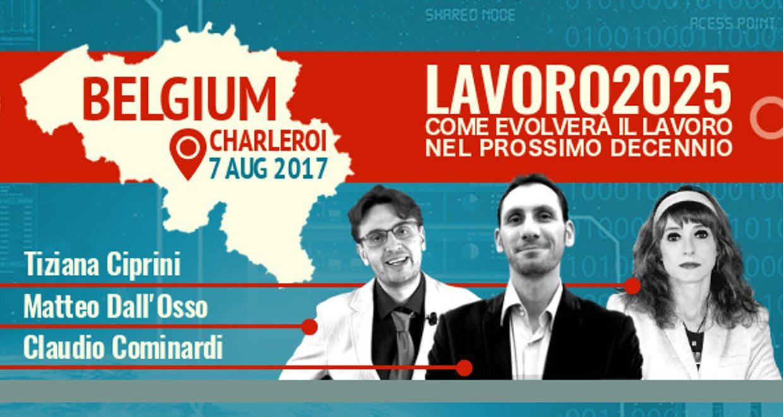 #Lavoro2025 – Il 7 agosto in Belgio per la prima tappa estera