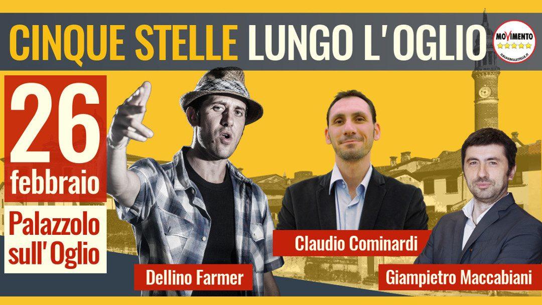 Lunedì 26 a Palazzolo: scopri programma e candidati bresciani del M5S