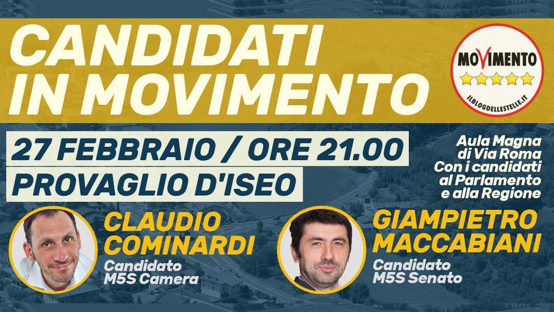 A Provaglio (BS) nuovo incontro con candidati e programma M5S