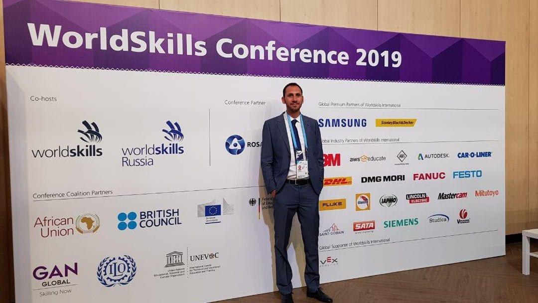Il mio intervento alla WorldSkills Competition 2019 (Kazan, Russia)