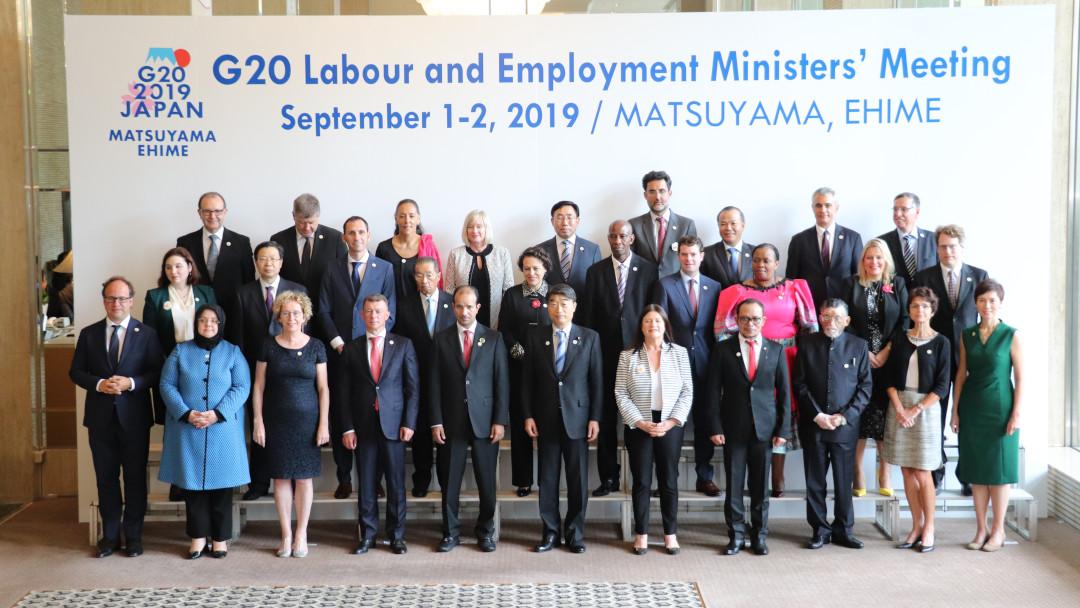 La dichiarazione prodotta dai Ministri del Lavoro al summit G20 – Giappone 2019