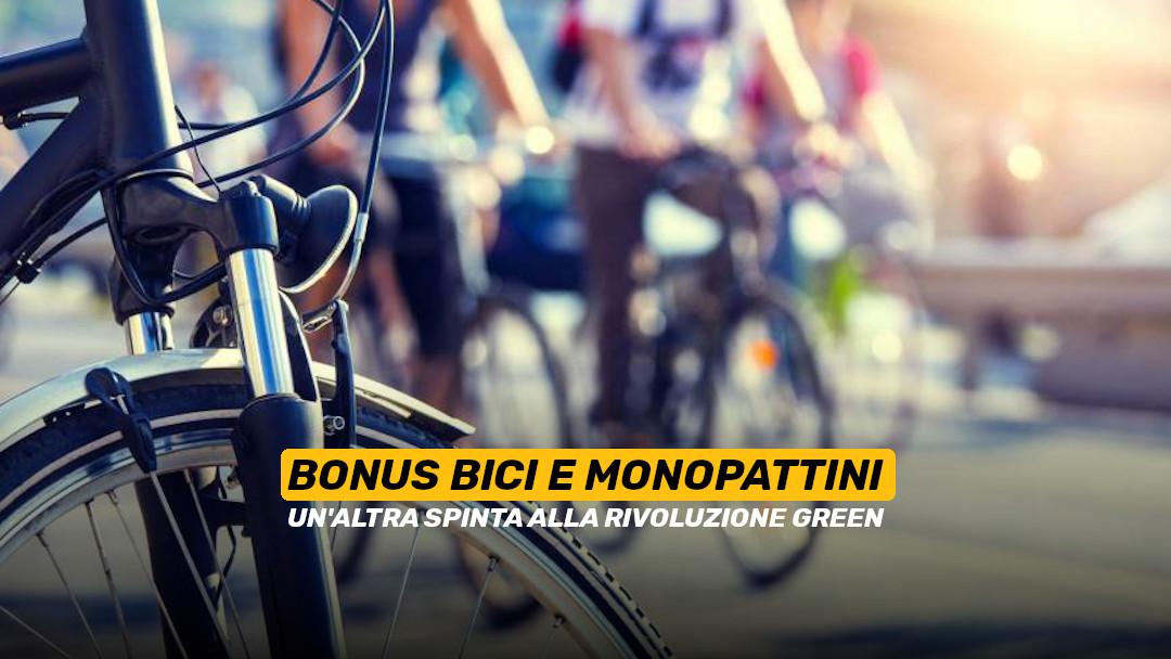 Bici e monopattini: il bonus da 500 euro che spinge la rivoluzione green