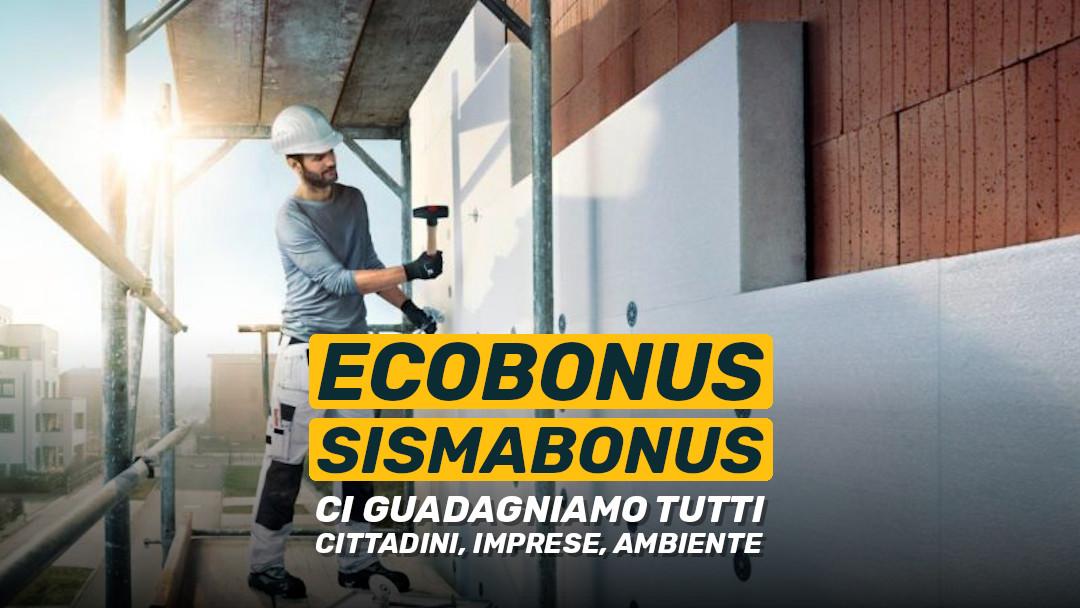 Con ecobonus e sismabonus ci guadagniamo tutti