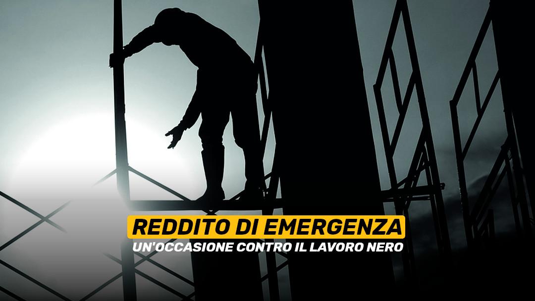 Reddito di Emergenza: un'occasione contro il lavoro nero