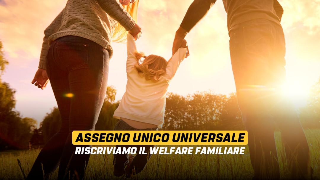 Assegno unico e universale: riscriviamo il welfare familiare