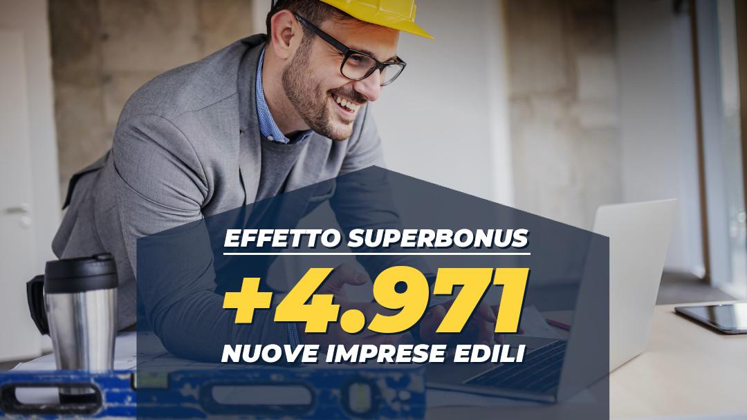 Effetto Superbonus, l'edilizia riparte: già nate 5000 nuove imprese