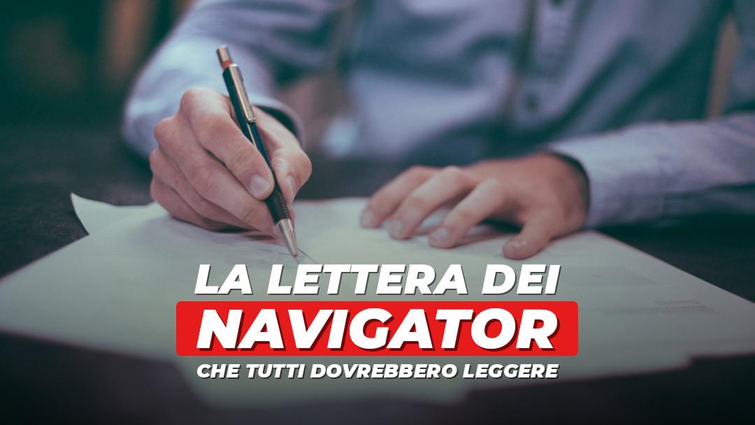 La lettera dei navigator che tutti dovrebbero leggere