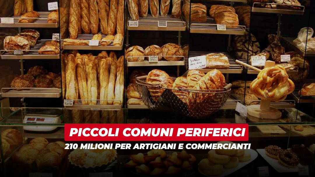 Commercio e artigianato: 6 milioni ai piccoli Comuni periferici bresciani
