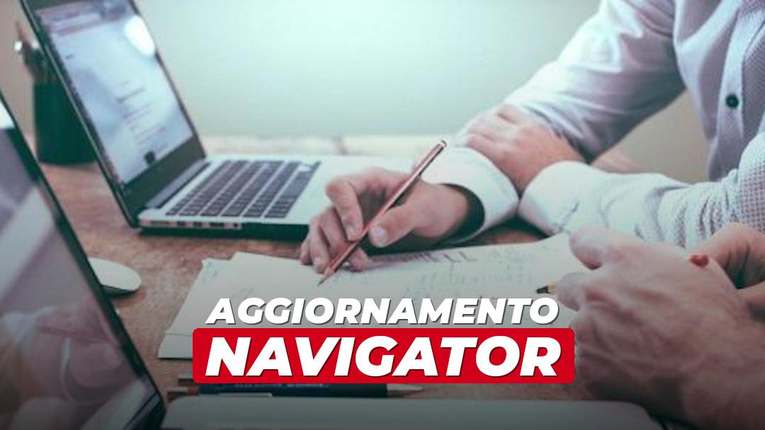 Navigator: aggiornamento importante