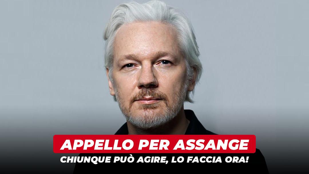 Appello per Julian Assange: chi può agire lo faccia ora!