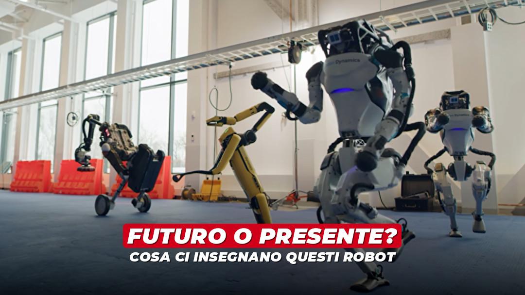 L'augurio dei robot e il futuro già presente