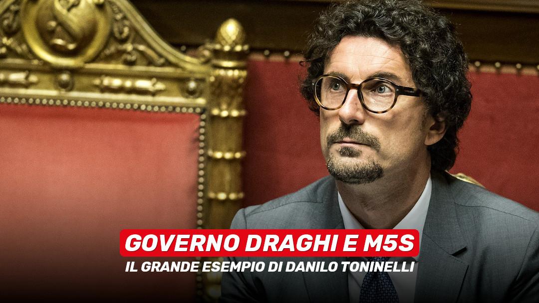 Governo Draghi e M5S: il grande esempio di Danilo