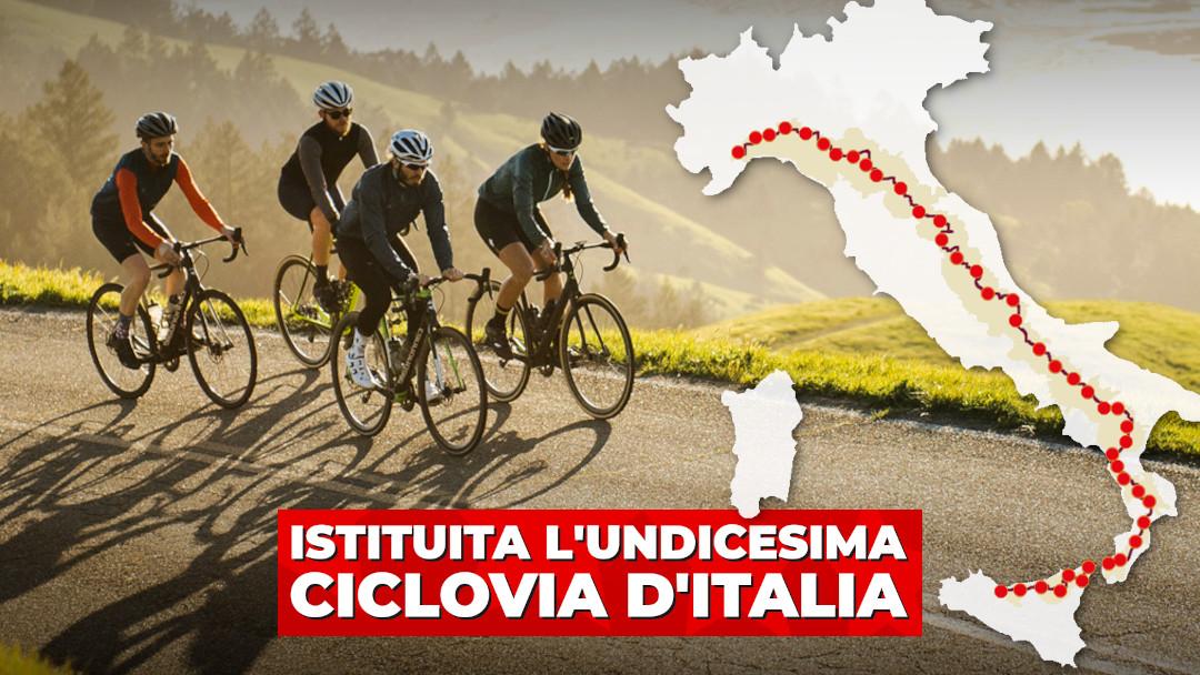 Appennino Bike Tour: al traguardo l'undicesima ciclovia d'Italia