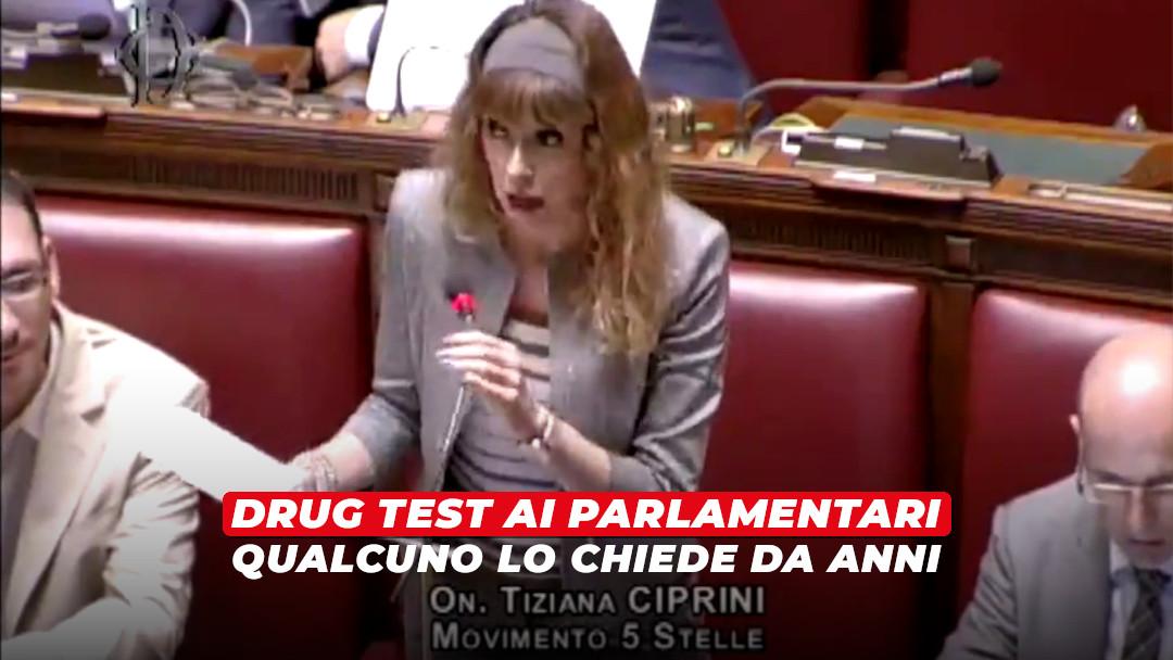 Test antidroga ai parlamentari: c'è chi lo chiede da anni