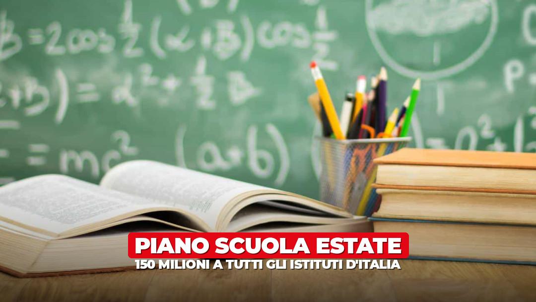 150 milioni alle scuole d'Italia per ripartire già d'estate