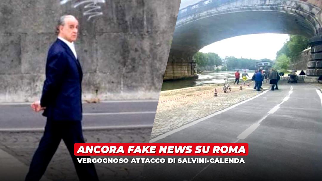 Da Salvini a Calenda, l'assalto a Roma a colpi di fake news