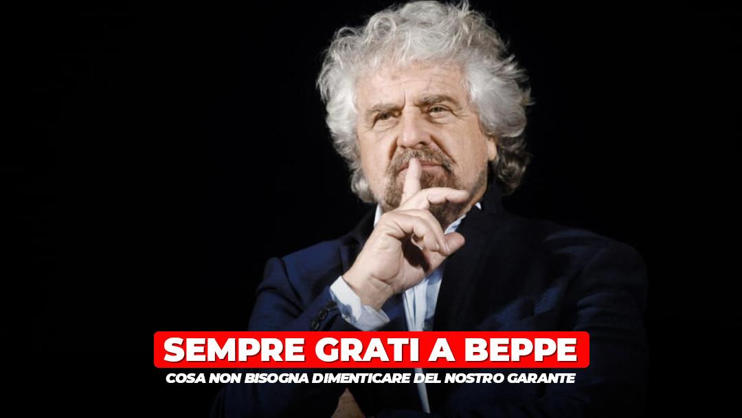 Quello che non dobbiamo mai dimenticare di Beppe Grillo