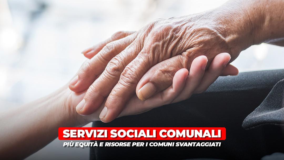 Servizi sociali: da oggi più equità e più risorse per i Comuni svantaggiati