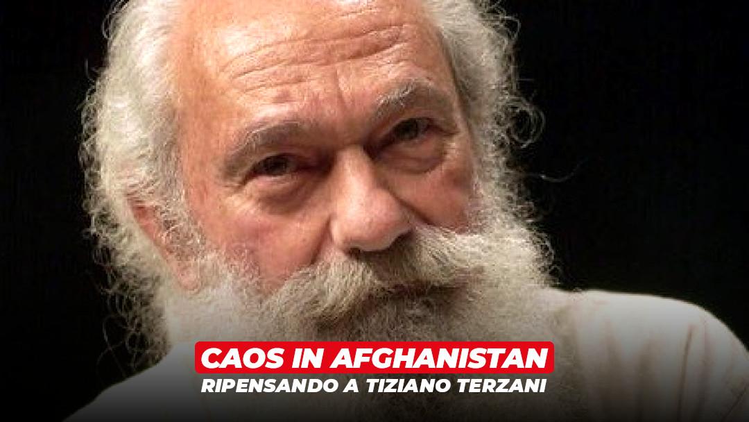 Guardare all'Afghanistan ripensando a Terzani