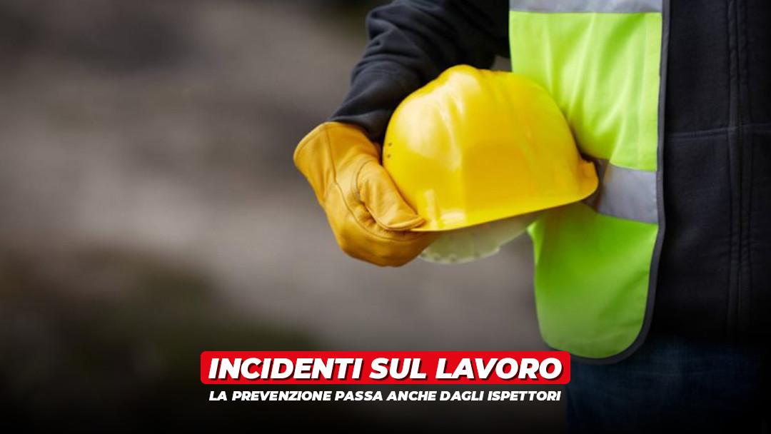 Incidenti sul lavoro: nulla da dire sulla carenza di ispettori?