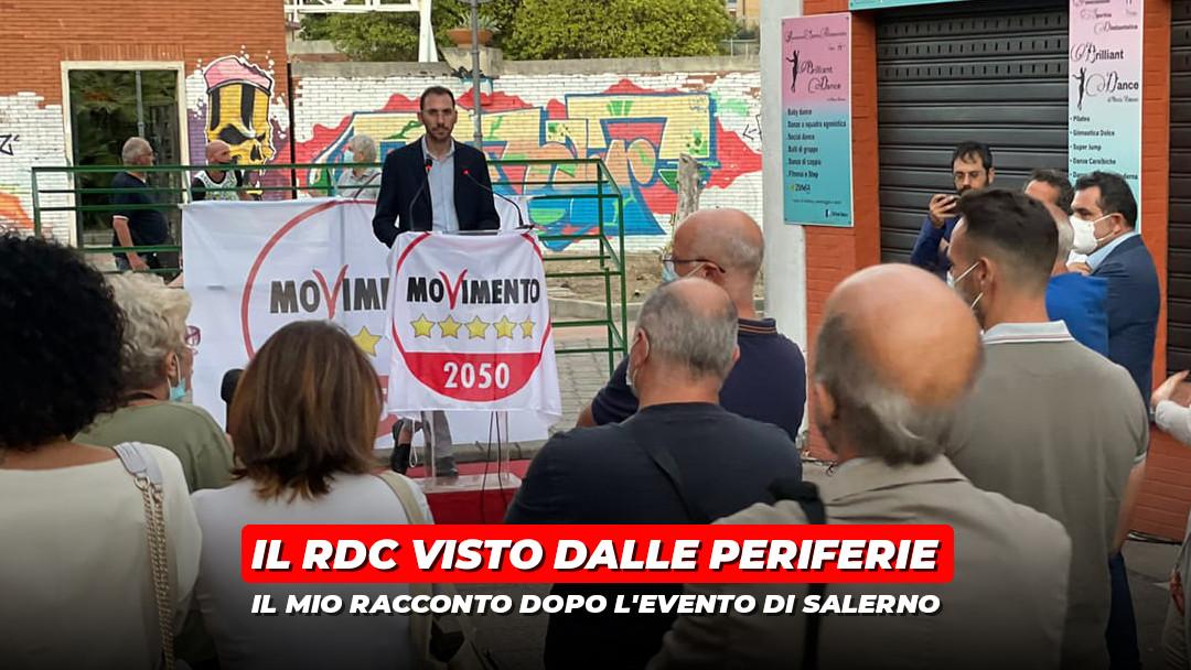 Il Reddito di Cittadinanza visto dalla periferia di Salerno