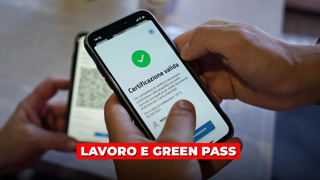 Lavoro e green pass: i miei dubbi