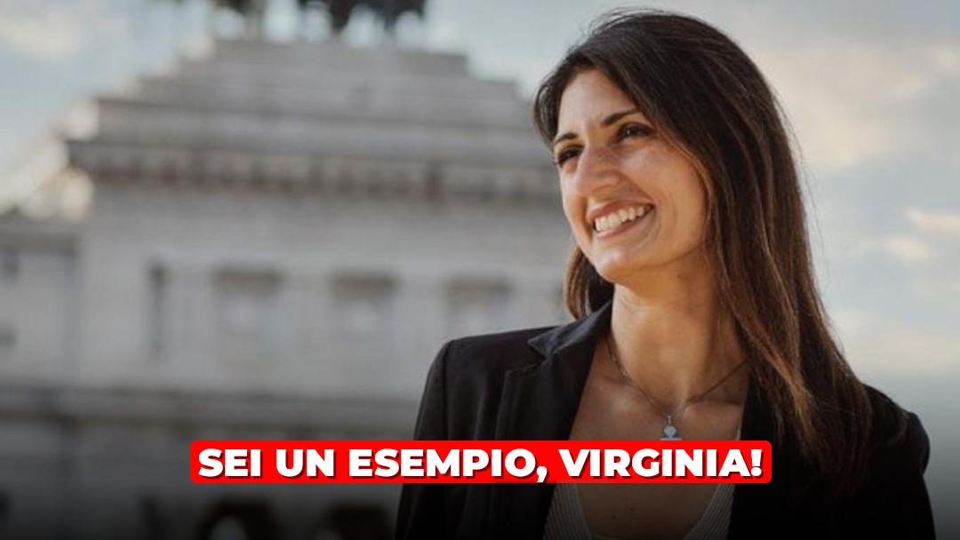 Grazie Virginia: la tua esperienza sia d'ispirazione per il MoVimento